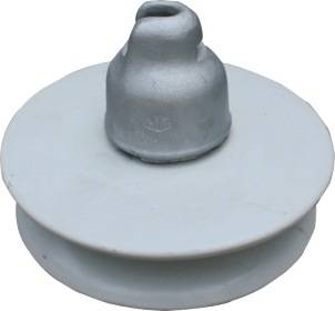 double-shed high voltage electric porcelain insulators