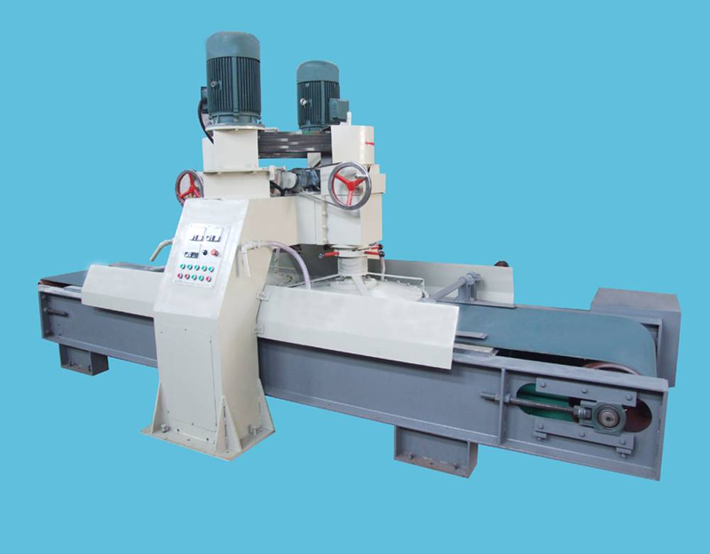 Stone double millstones calibrating machine