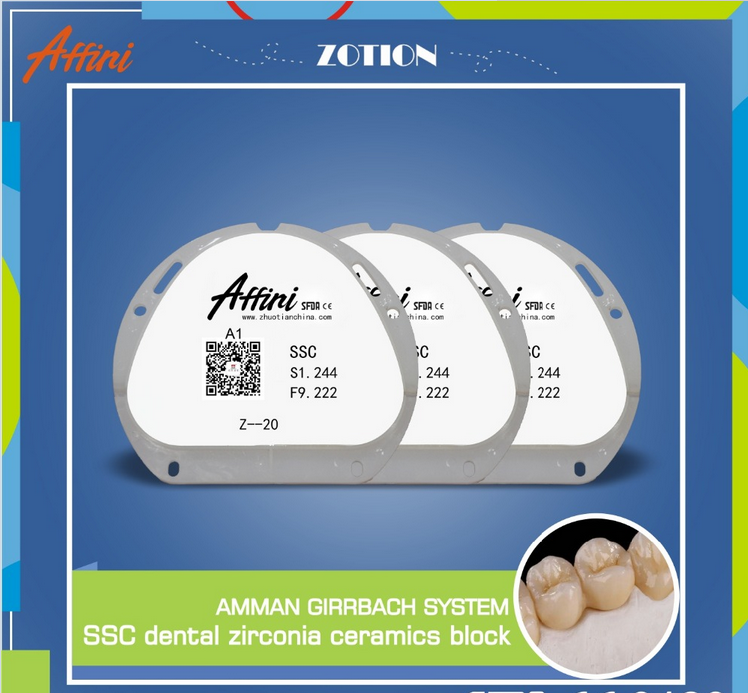 Dental equipment supplies cad/cam system zirconia ceramic block with good price