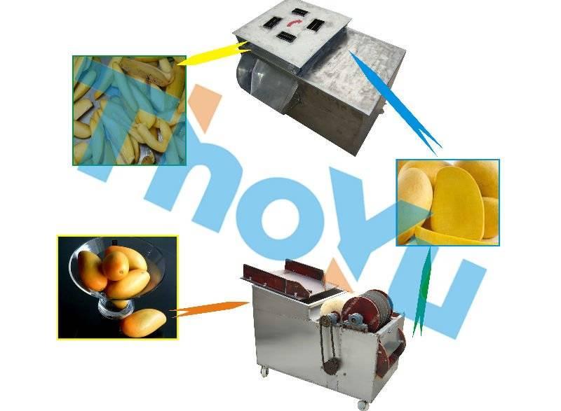 Mango slicing machine