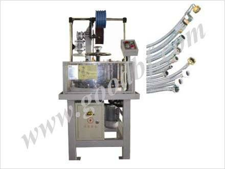 vertical automative hose braiding machine series