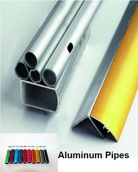 Hot aluminum pipe 7001 t6 customized high quality profile extrusion aluminum pipe