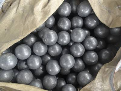 forged steel grinding media ball