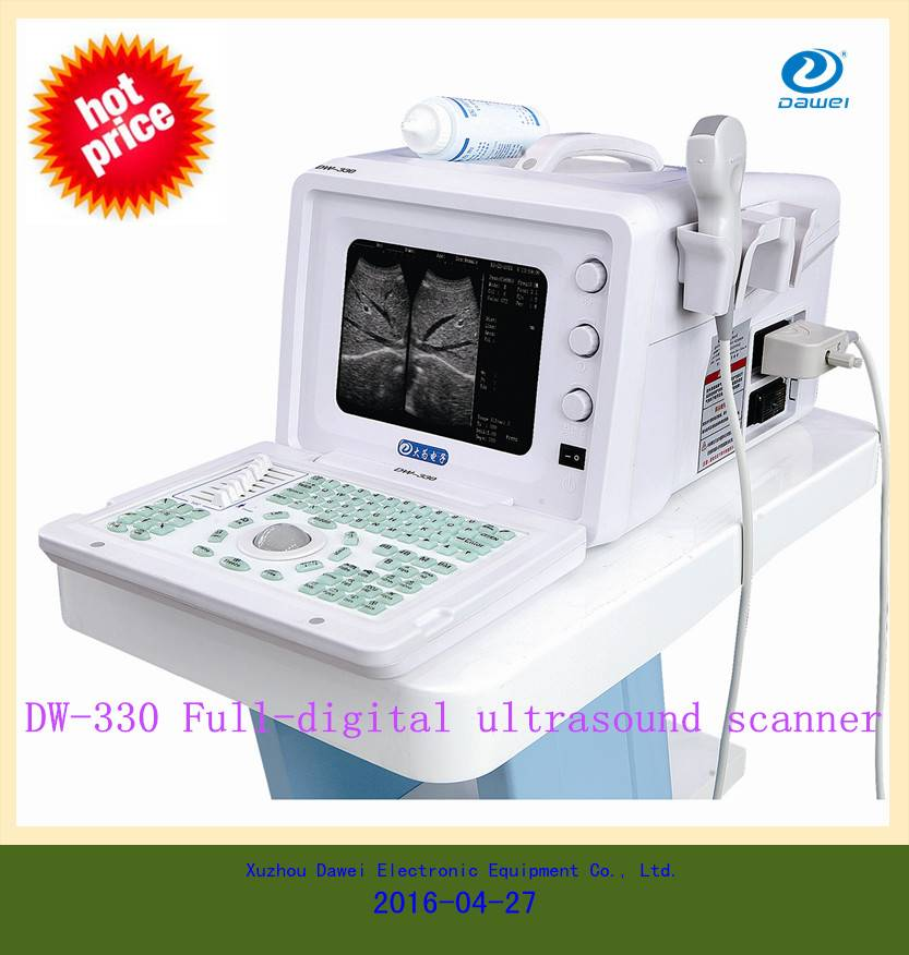 Hot sales! Cheapest portable ultrasound machine for DW-330 china portable ultrasound machine price