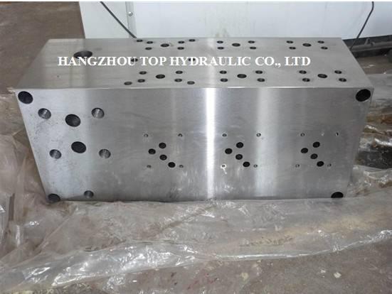 manifold block valve bank valve group hydraulic valve solenoid valve