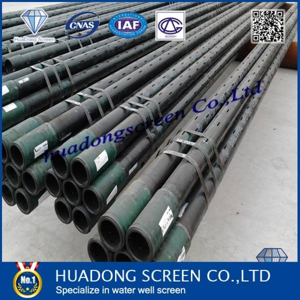 oil well casing seamless liner/slot liner pipe (China manufacture)