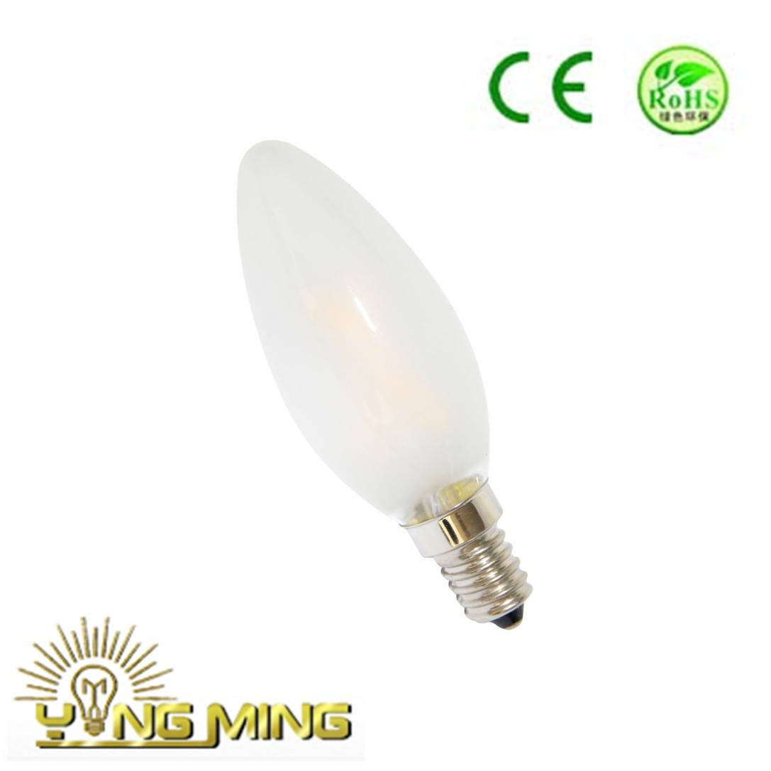 Electronic Candle 1W Frost C35 LED Bulb