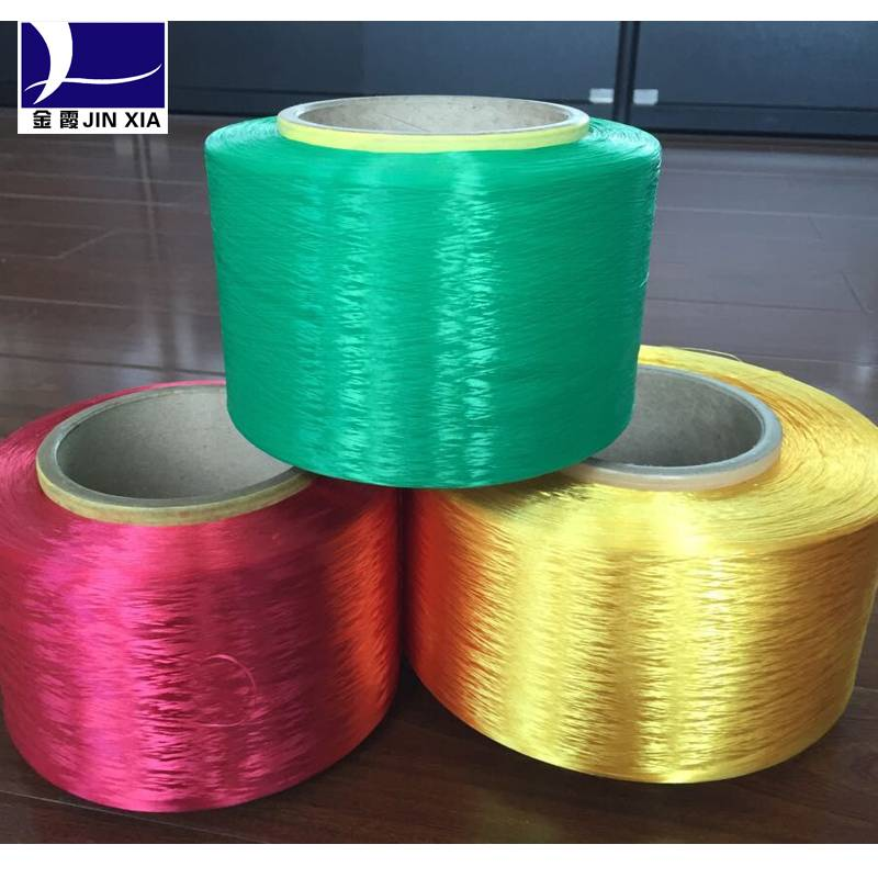 polyester dope dyed filament yarn