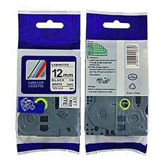 TZe-231 label 12mm black on white label for Brother P-touch label printer