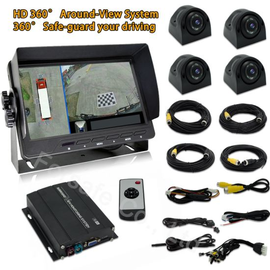 360 Around View Parking System for Heavy-Duty Vehicles