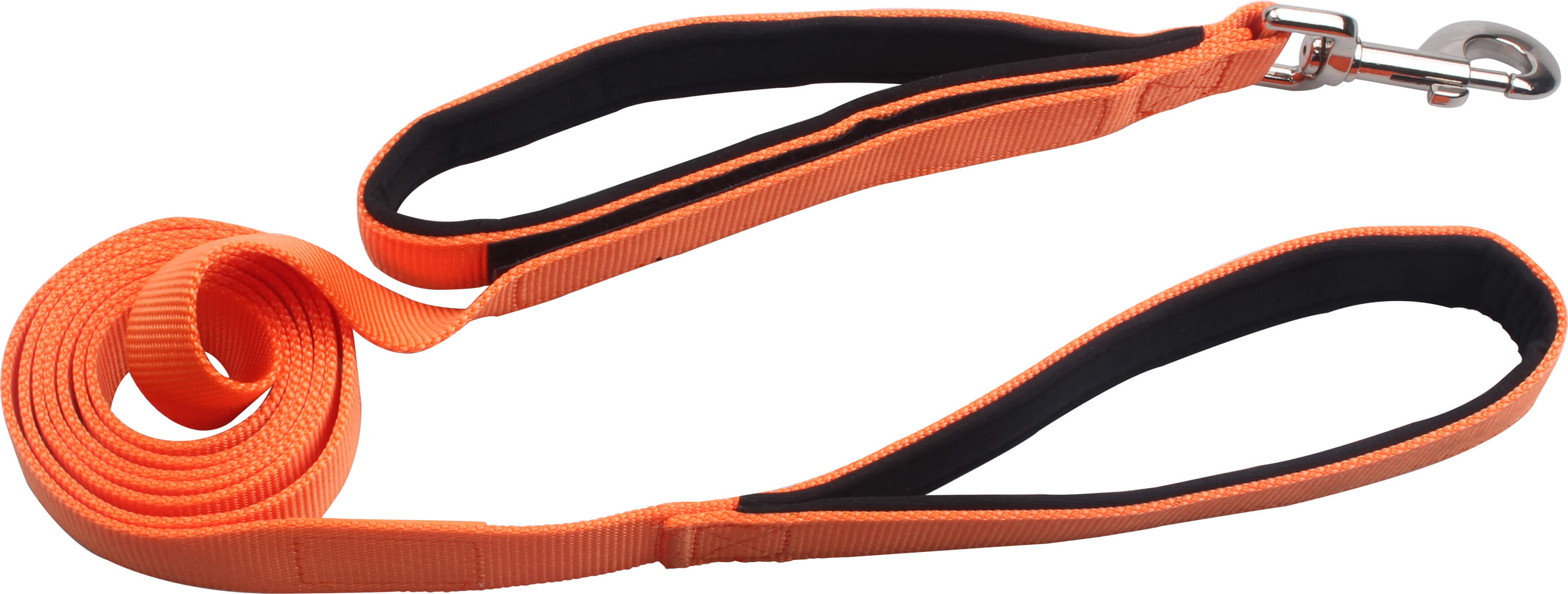 Professional Manufacturer Double Padded Handles Dog Leash