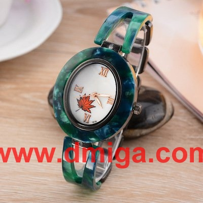 resin amber watch fashion watch for lady resin amber strap