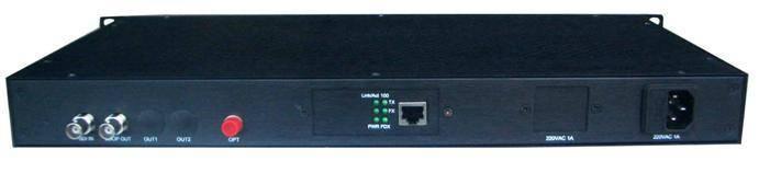 HC2014 SD-SDI/ASI Ethernet fiber optic transmitter and receiver