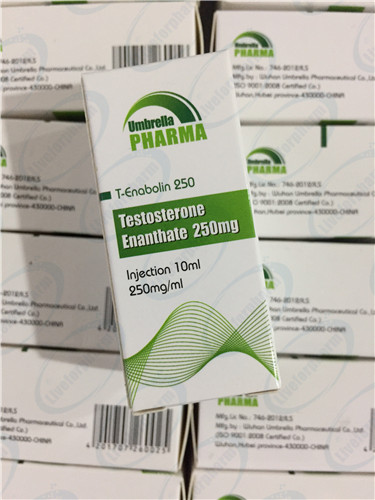 Pure Source Finished Steroid Oil Test Enanthate 250mg/ml For Injection