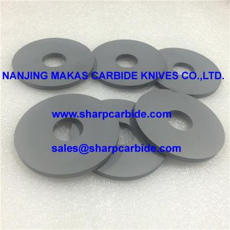 Solid Carbide Disc Blanks, Tungsten Carbide Disc Blanks, Carbide Disk Blanks