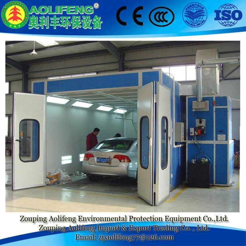 2015 Hot Sale Environmental Auto Spray Booth Oven with ISO approved