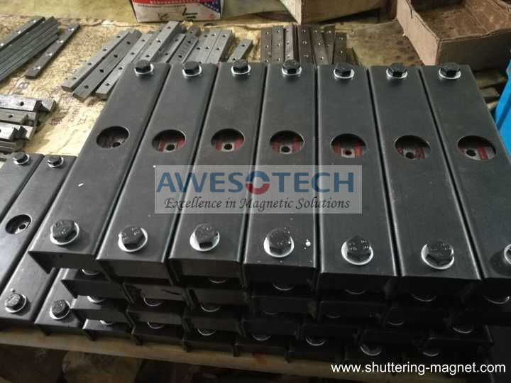 Magnetic Shuttering System 900kg Box Magnet