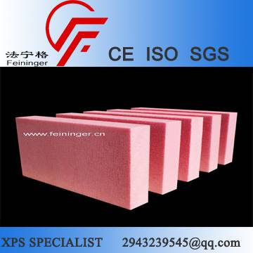 Eco Friendly CO2 Foaming XPS insulation Board