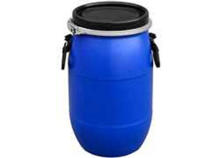 Plastic Barrel HDPE Open Top Blue Plastic Drum