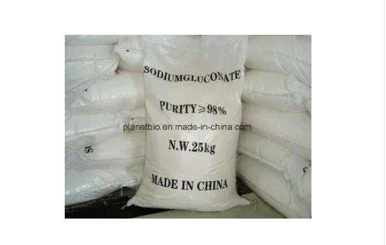 Planetbio Industry Grade Sodium Gluconate Water Treatment Chemical with 99%