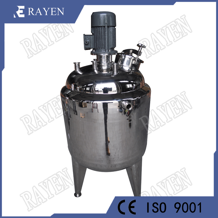 Stainless steel industrial reactor pharmaceutical reactor tank