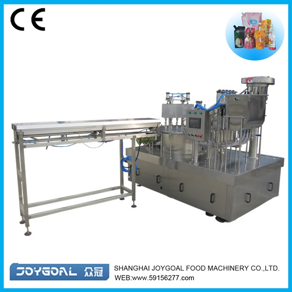 stand up pouch packing machine factory price in china