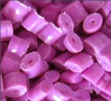 Recovery of pink HDPE