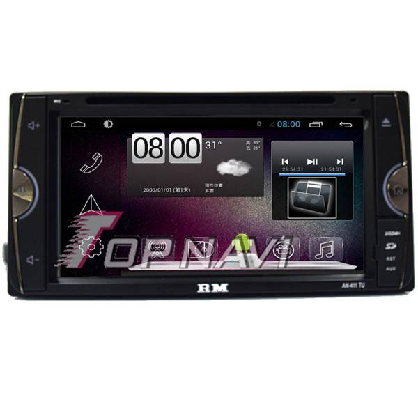"""800*480 6.95"""" Android 4.4 Car GPS Player Video For Toyota Universal Navigation"""