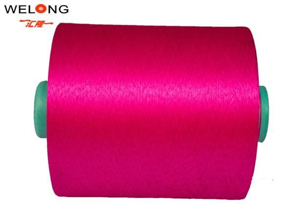 polyester textured yarn for embriodery