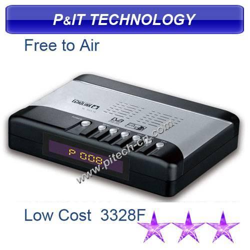 Low Cost Fta DVB-S Digital Satellite TV Receiver (FTA3328F)