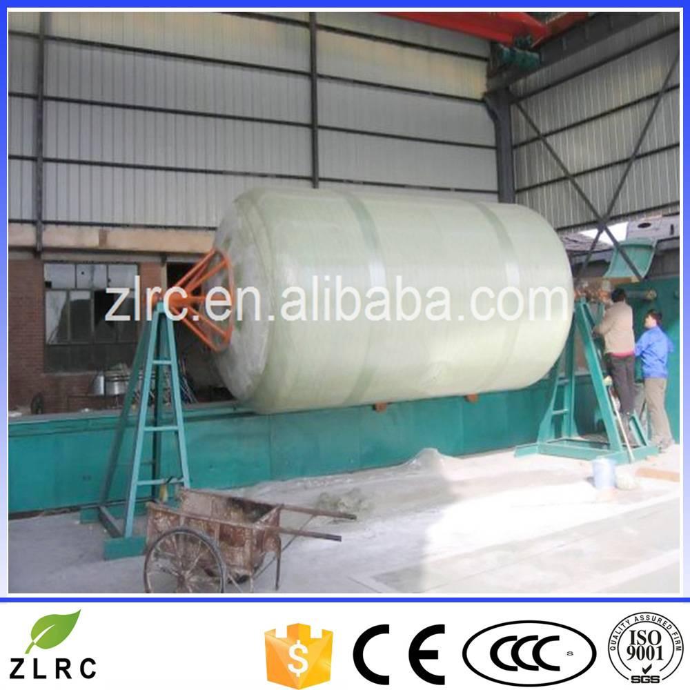 FRP water treatment tank winding machine