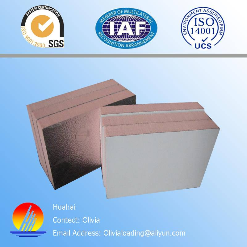 HVAC composite Phenolic foam duct panel