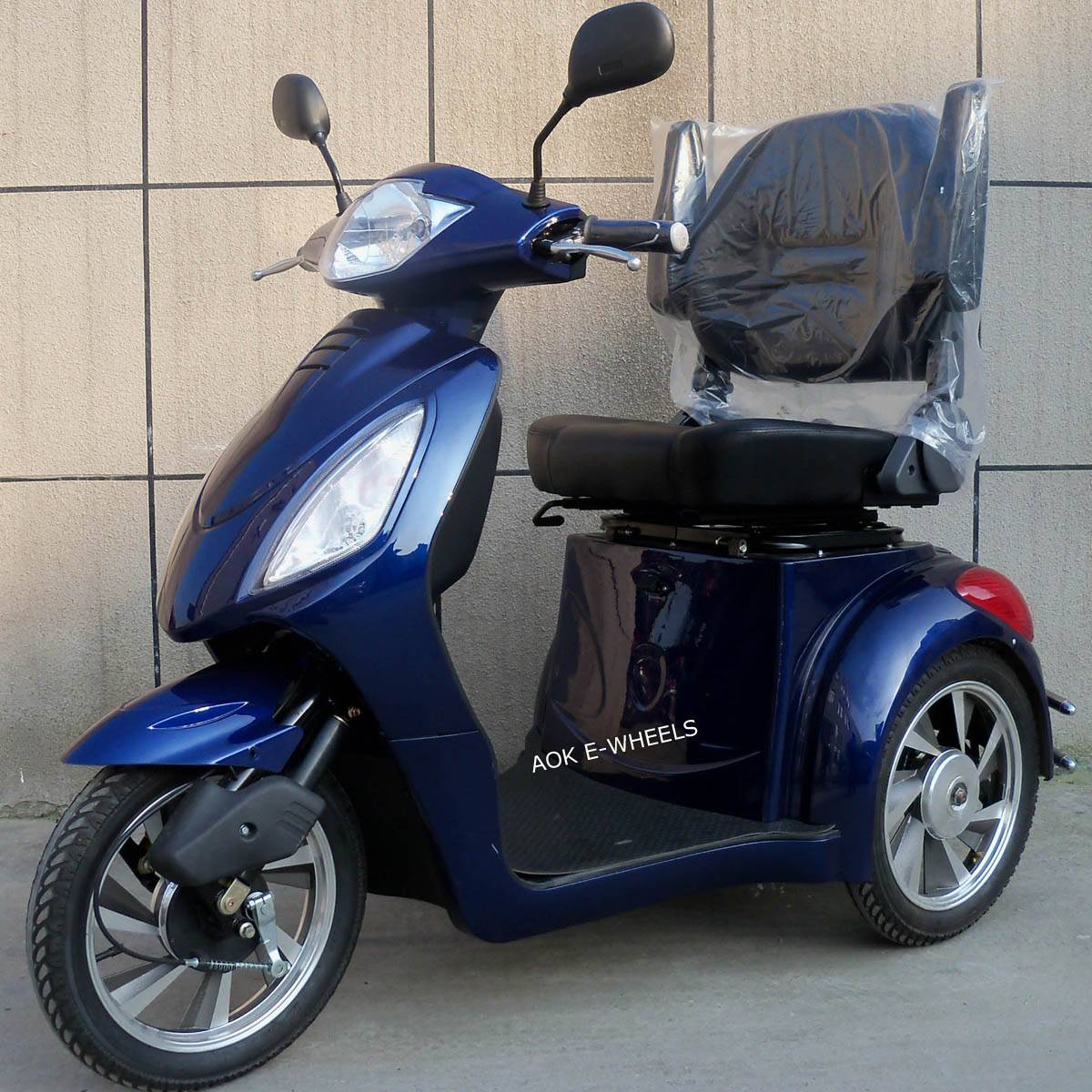 500W/800W Two Seat Electric Mobility Scooter for Old People (TC-016B)