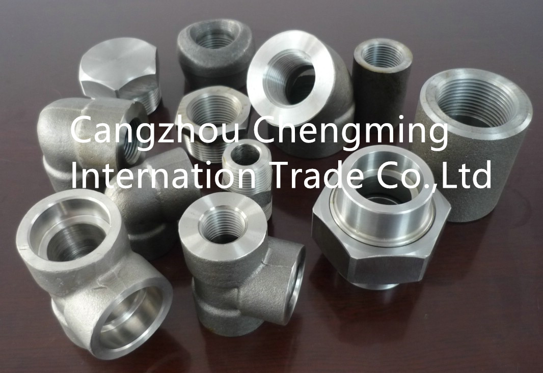 forged pipe fitting, sw or thread elbow,tee,coupling,union,nipple