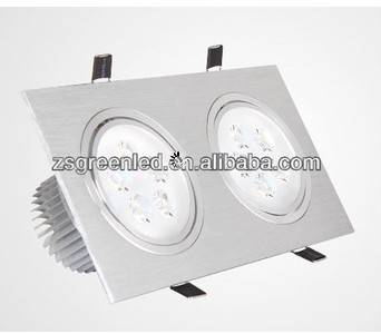 New style good brightness rectangular recessed lights