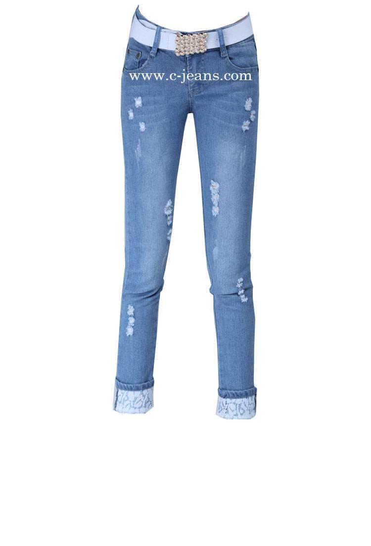 2015 Lady's Newest Fashion Fashion Women Jeans (1438)