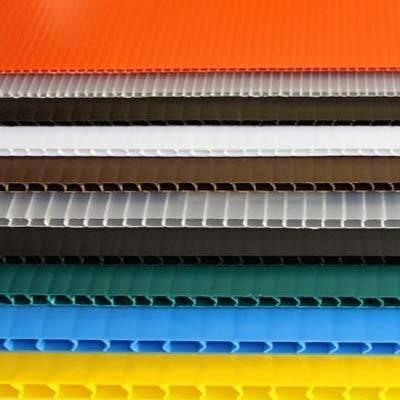 1830x1220mm 2mm 3mm 5mm pp fluted sheet