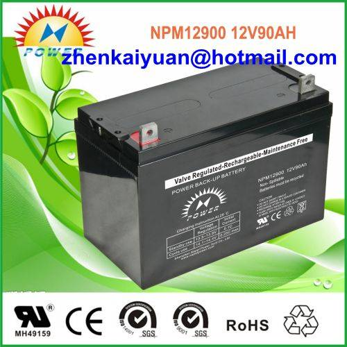 lead acid /sealed /ups/solar/ battery12V90Ah