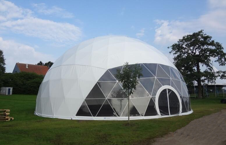 Steel Structure 30m Diameter Large Geodesic Dome Tent For Events