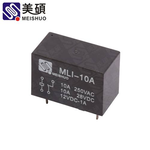 MEISHUO MLI 10A Latching relay 250VAC relay PCB layout relay