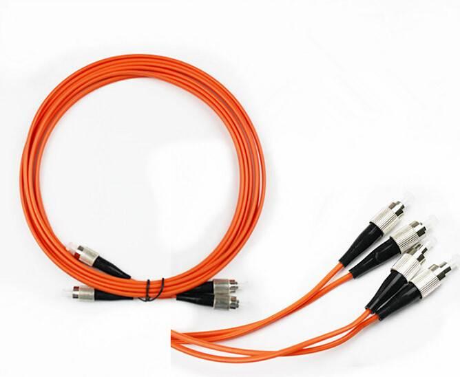 Multi mode FC-FC(PC/UPC) patch cord(duplex)