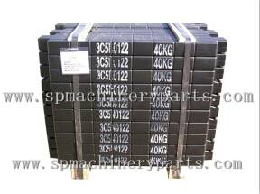 Factory Directly Wholesale Cheap Price Elevator Steel Filler Weights Maki In China