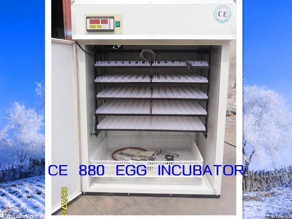 CE Cetificated chicken incubator and hatchery YZITE-9