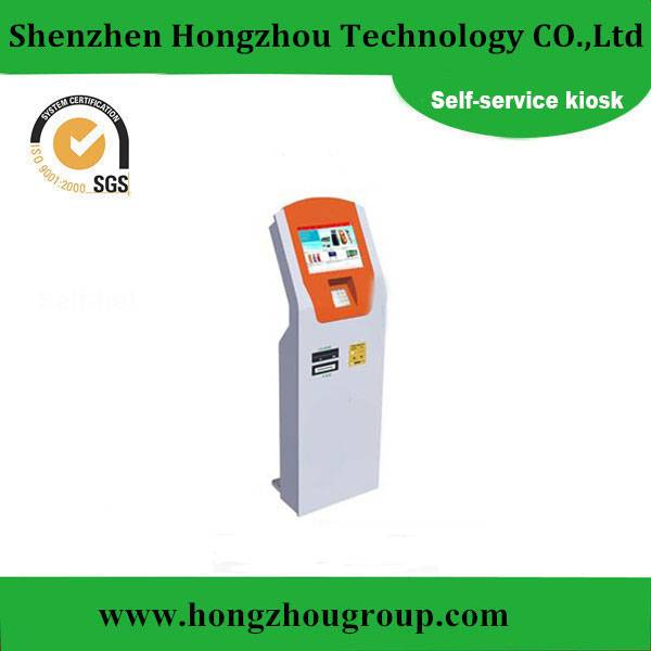 LCD Multimedia Display Self-service Touchscreen Kiosk