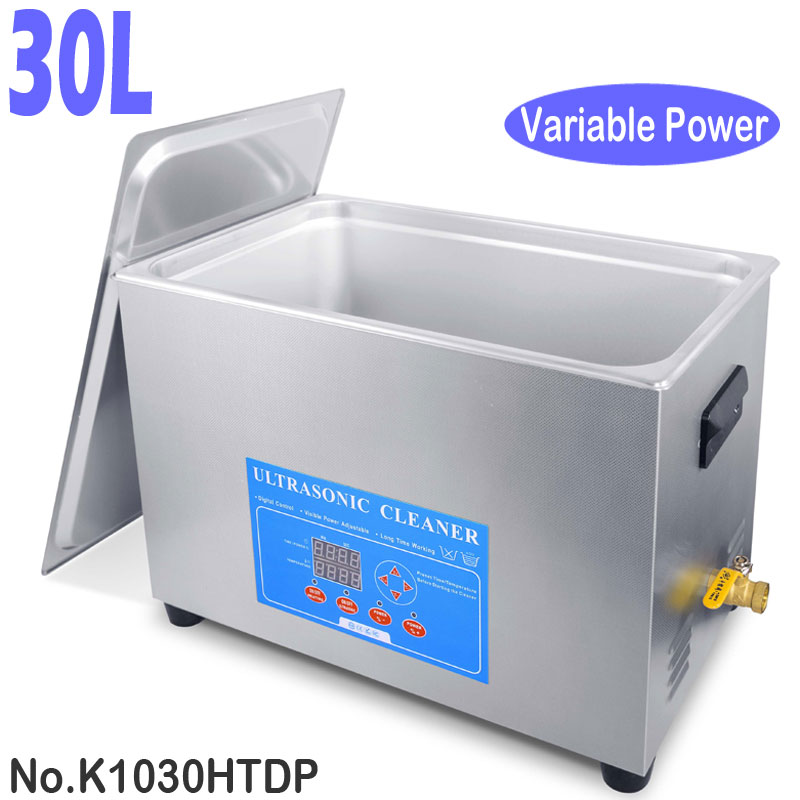 K1030HTDP 30L Variable Power Industrial Ultrasonic Parts Cleaner