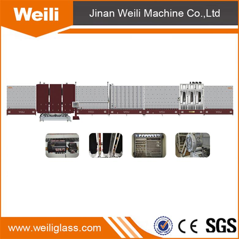 LBW2000PC Vertical Automatic Insulating Glass Gas Filling Inside Flat Press Production Line