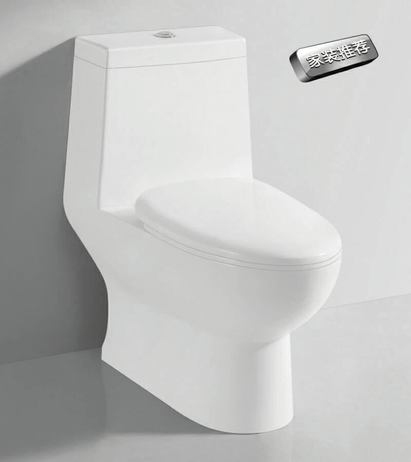 TA-8155 Sanitary Ware Dual Flush Siphon Jet Flushing One-piece Vitreous China Toilet