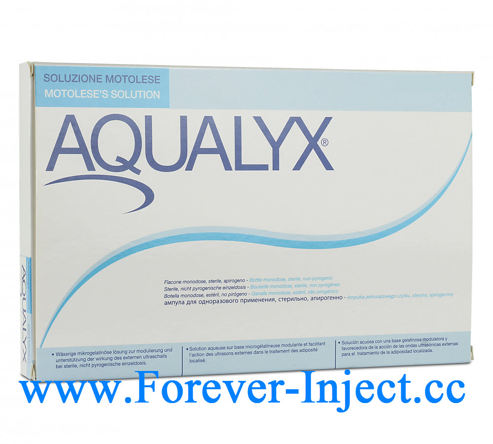 AQUALYX, 10 bottles 8ml, Fat Reduction Injection
