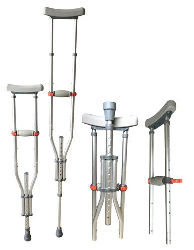 Folding & Detachable Underarm Crutch LK3010D-Three Size in One