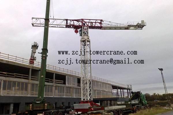 Topless tower crane QTZ140(6016)